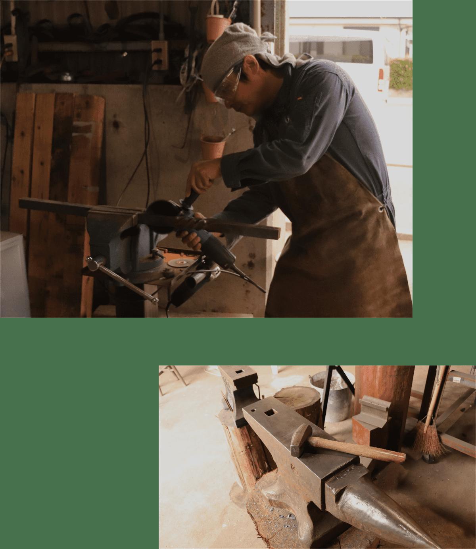 看板のお仕事と鍛冶屋のお仕事